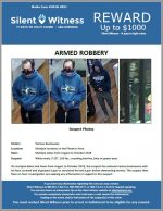 Armed Robberies / Various Locaitons