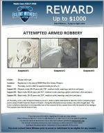 Attempted Armed Robbery / 20 year old male