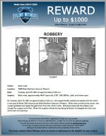 Robbery / Adult male 3500 W. Northern Ave