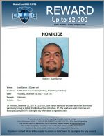 Juan Barron / 11054 West Buckeye Road, Cashion, AZ (MCSO jurisdiction)