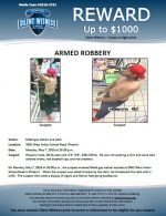 Armed Robbery / Mobil Gas Station 5402 W. Indian School Rd
