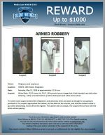 Armed Robbery / Walgreens 7000 N. 16th St