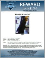 Armed Robbery / Subway 4450 E. McDowell Rd