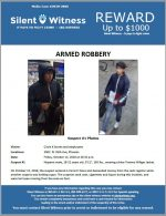 Armed Robbery /  Circle K / 3402 N. 35th Ave, Phoenix