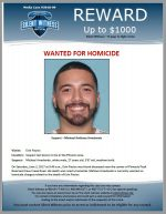 Michael Arredondo / Last known to be in the Phoenix area