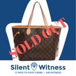 """Bag A Criminal"" Louis Vuitton Handbag Raffle"
