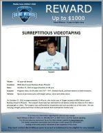 Surreptitious Videotaping /  9830 West Lower Buckeye Road, Phoenix