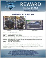 Commercial Burglary / Super Plus 2000 Food Mart 1133 E Indian School Rd, Phoenix