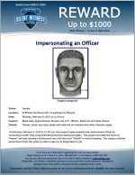 Impersonating a Police Officer / 4700 East Van Buren St(7-11 parking lot), Phoenix