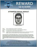Attempted Sexual Assault / 7021 West McDowell Rd, Phoenix – Ventana Apartments parking lot
