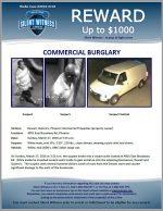 Commercial Burglary / 4001 E. Broadway Rd., Phoenix