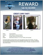 Credit Card Theft / 2200 W Northern, Phoenix (LA Fitness)
