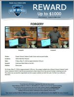 Forgery / 3423 E Bell Rd, Phoenix