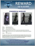 Commercial Burglary / American Executive Inn 1554 W. Main Street