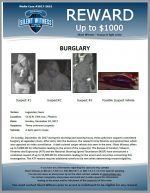 Commercial Burglary / Legendary Guns 5130 N. 19th Ave