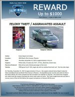 Felony Theft / Aggravated Assault / 4848 North 43rd Avenue, Phoenix