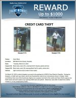 Credit Card Theft / 900 North Rural Road, Chandler