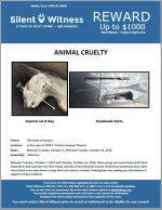 Animal Cruelty / In the area of 3200 E. Pinchot Avenue, Phoenix