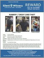 Robbery / Credit Card Theft / 8330 N 19th Avenue, Phoenix (parking lot)
