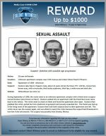 Sexual Assault / Unknown apartment complex near 15th Avenue and Indian School Road in Phoenix.