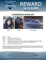 Commercial Burglary / Circle K 1002 N. 35th Ave, Phoenix