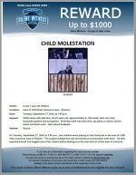 Child Molestation / Area of 1100 West Lawrence Lane – Phoenix