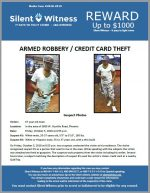 Armed Robbery / Credit Card Theft / In the area of 3600 W. Ocotillo Road, Phoenix