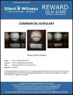 Commercial Burglary / Don and Charlie's Restaurant / 7501 E. Camelback Road, Scottsdale