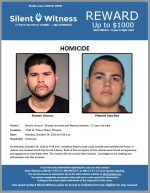 Ronnie Orozco and Manuel Sanchez / The area of 3100 W. Pierce Street, Phoenix