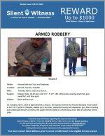 Armed Robbery / AZ Bank & Trust 3471 W. Frye Rd