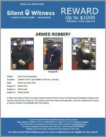 Armed Robbery / Circle K's 15400 N. 7th St