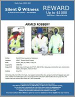 Armed Robbery / Watch N Save Jeweler / 4501 E. Thomas Road, Phoenix