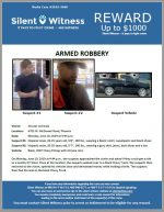 Armed Robbery / 20 year old male / 6702 W. McDowell Road, Phoenix