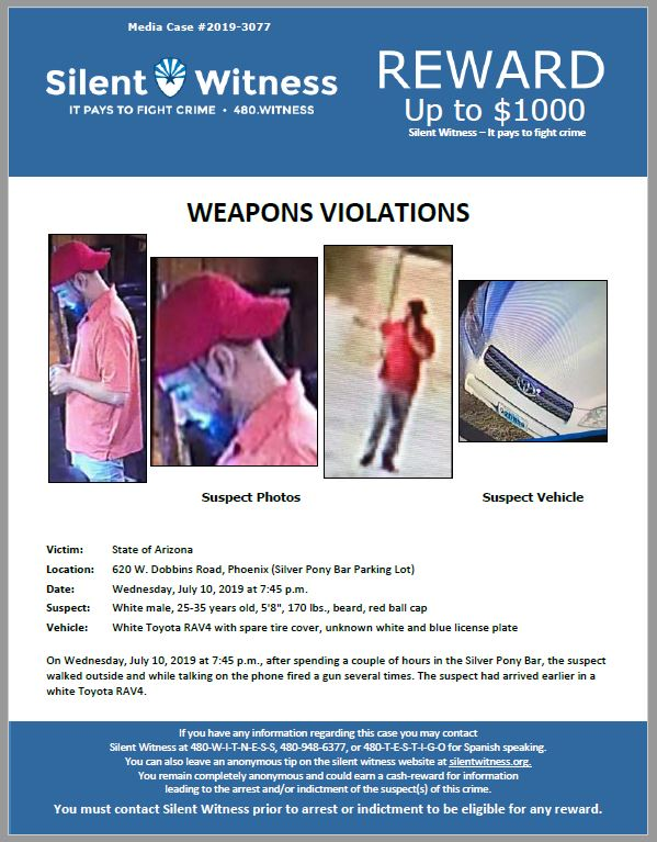 Weapons Violations / 620 W. Dobbins Road, Phoenix