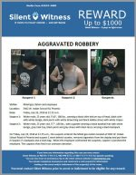 Aggravated Robbery / Mobil 5402 W. Indian School Rd.