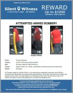 Attempted Armed Robbery / 13770 N. 35th Avenue, Phoenix (ATM)