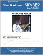 Aggravated Assault / 2400 E. Thomas Road – in the crosswalk
