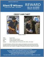 Credit Card Theft / 15434 N. 32nd Street, Phoenix