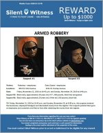 Robbery / Multiple Locations / 4014 N. 43rd Avenue and 4231 W. Dunlap Avenue