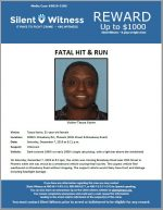 Fatal Hit and Run / Tanya Karim / 20th Street & Broadway Road