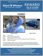 Robbery / 63-year-old man / 2941 E. Indian School Road, Phoenix