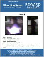 Arson / In the area of 5600 S. 13th Place, Phoenix