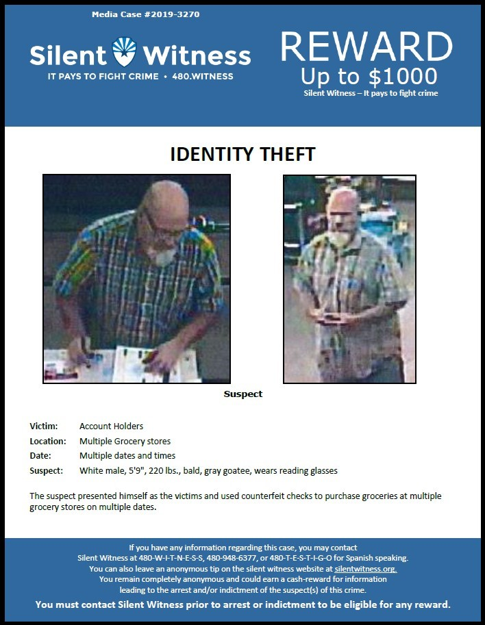 Identity Theft / Multiple Grocery Stores