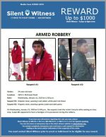 Armed Robbery / 24 year old male / 2601 E. McDowell Road