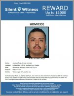 Jonathan Rojas / In the area of 2200 W. Southern Ave., Phoenix