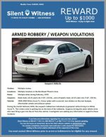 Armed Robbery / Weapon Violations / Northeast Phoenix Area