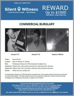 Commercial Burglary / 5301 W. Madison St., Phoenix