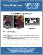 Commercial Burglary / In the area of 1900 N. 25th Drive, Phoenix