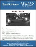 Animal Cruelty / Area of 4400 N. 18th St.