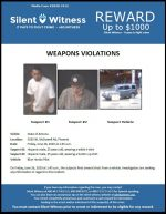 Weapons Violations / 5035 W. McDowell Rd, Phoenix